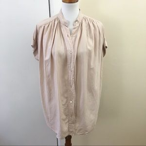 75d51bf05b276 Wilfred Tops - New Wilfred Aritzia Bertillon Blouse Blush